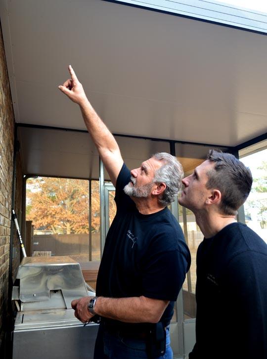 Internachi Certified Home Inspectors Tim and Greg Fetz